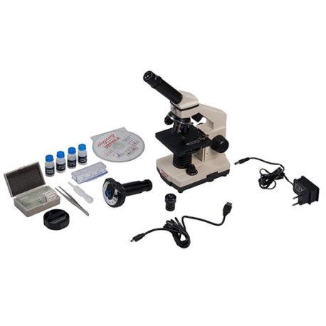 Купить микроскоп Микромед Эврика с видеоокуляром | МТПК-ЛОМО