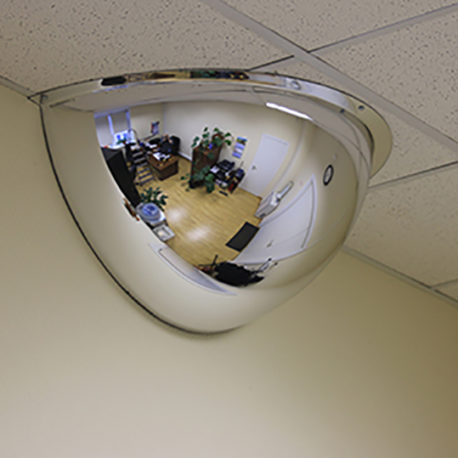 Купить сферическое купольное зеркало МТПК-ЛОМО