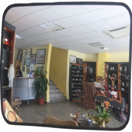 Купить сферическое прямоугольное зеркало МТПК-ЛОМО