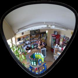 Купить обзорное сферическое треугольное зеркало МТПК-ЛОМО