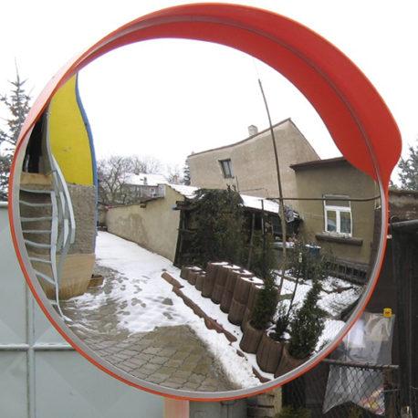 Купить универсальное сферическое зеркало с козырьком МТПК-ЛОМО