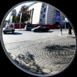 Купить сферическое универсальное круглое зеркало МТПК-ЛОМО